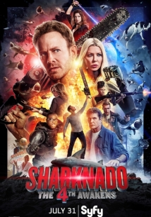 Sharknado 4: The 4th Awakens film afişi