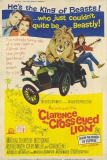 Clarence, The Cross-Eyed Lion film afişi