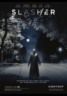 Slasher film afişi