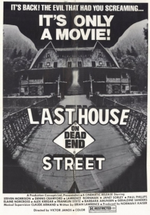 The Last House On Dead End Street film afişi