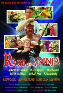 Rage Of Ninja film afişi
