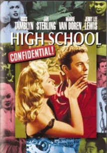 High School Confidential! film afişi