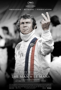 Steve McQueen: The Man & Le Mans film afişi