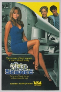 Weird Science film afişi