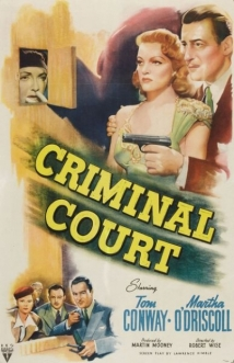 Criminal Court film afişi