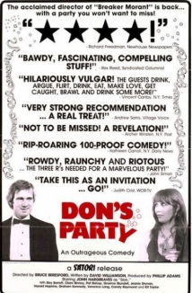 Don's Party film afişi