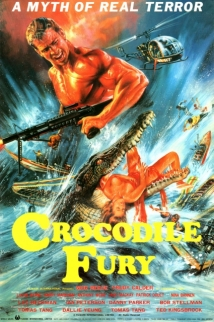 Crocodile Fury film afişi