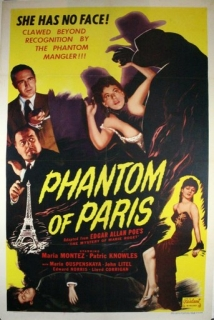 The Phantom Of Paris film afişi