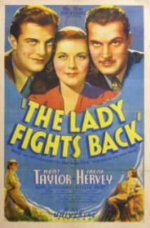 The Lady Fights Back film afişi