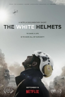 The White Helmets film afişi