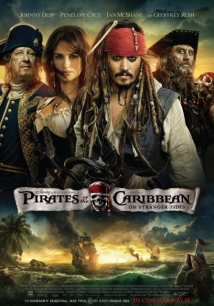 Karayip Korsanları: Gizemli Denizlerde film afişi