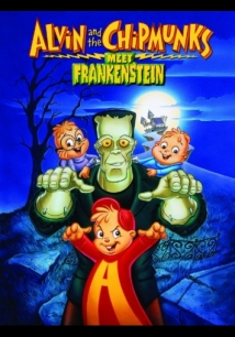 Alvin and the Chipmunks Meet Frankenstein film afişi