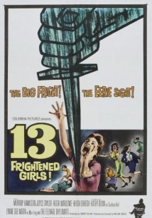 13 Frightened Girls film afişi