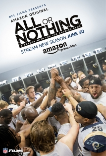 All Or Nothing: A Season With The Los Angeles Rams film afişi