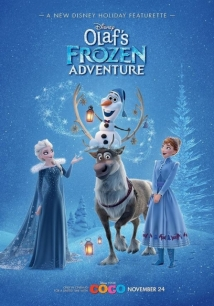 Olaf's Frozen Adventure film afişi
