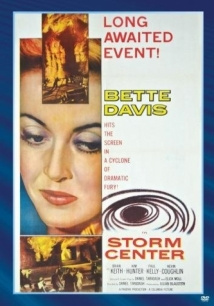 Storm Center film afişi
