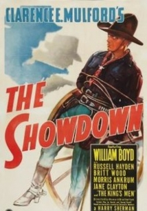 The Showdown film afişi
