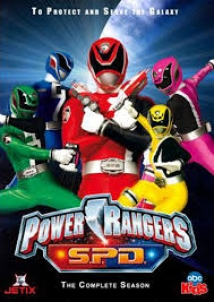 Power Rangers S.P.D. film afişi