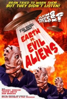 Earth Vs. Evil Aliens film afişi