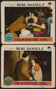 The Manicure Girl film afişi
