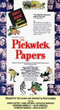The Pickwick Papers film afişi