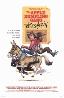 The Apple Dumpling Gang Rides Again film afişi