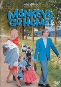 Monkeys, Go Home! film afişi