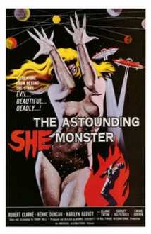 The Astounding She-Monster film afişi