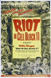 Riot In Cell Block 11 film afişi