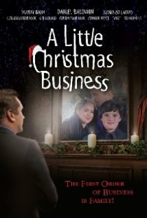 A Little Christmas Business film afişi