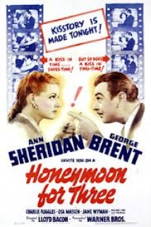 Honeymoon For Three film afişi