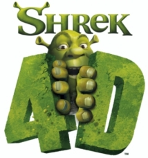 Shrek 4-D film afişi