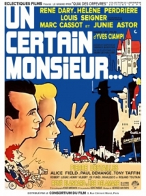 Un Certain Monsieur film afişi