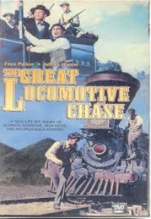 The Great Locomotive Chase film afişi