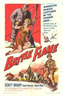 Battle Flame film afişi