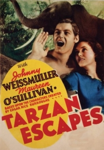 Tarzan Escapes film afişi
