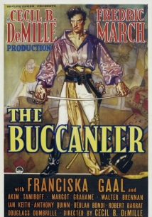 The Buccaneer film afişi