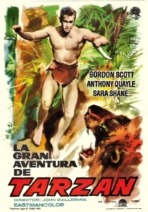 Tarzan's Greatest Adventure film afişi