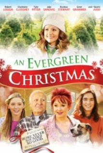 An Evergreen Christmas film afişi