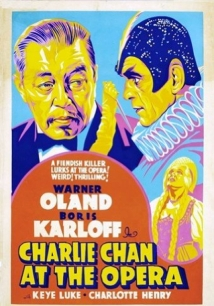 Charlie Chan At The Opera film afişi