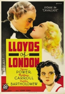 Lloyd's Of London film afişi