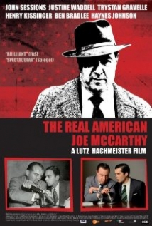 The Real American - Joe McCarthy film afişi