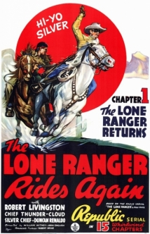 The Lone Ranger Rides Again film afişi