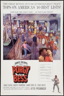 Porgy And Bess film afişi