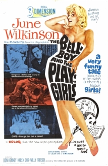 The Bellboy and the Playgirls film afişi