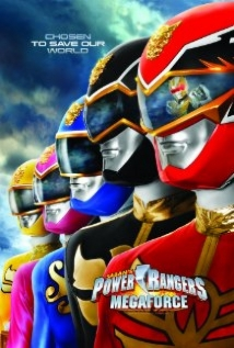 Power Rangers Megaforce film afişi