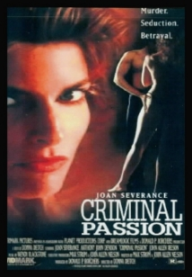 Criminal Passion film afişi