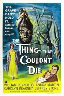 The Thing That Couldn't Die film afişi