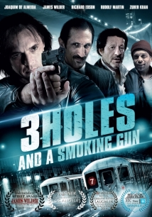 Three Holes, Two Brads, And A Smoking Gun film afişi