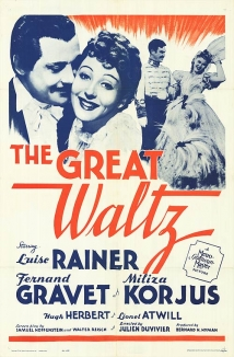 The Great Waltz film afişi